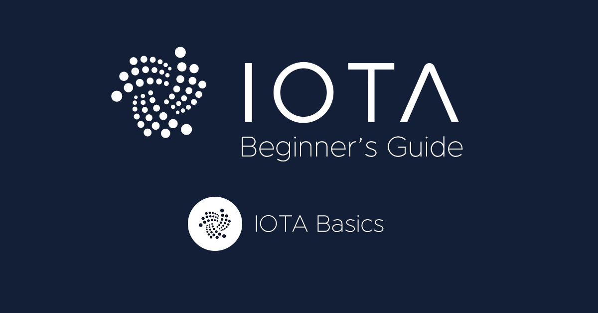 Header IOTA Basics 1